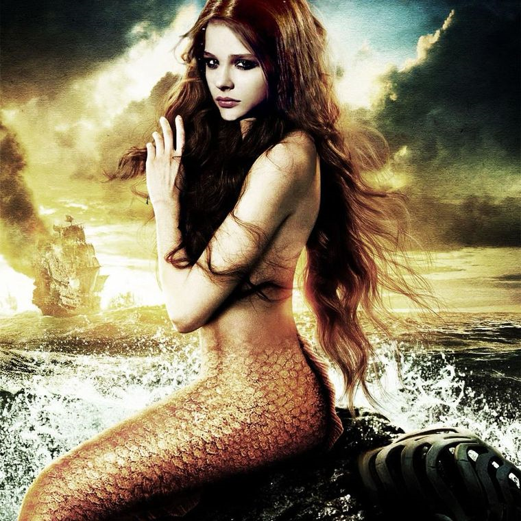 Chloe Moretz como La Sirenita - Cine de Escritor