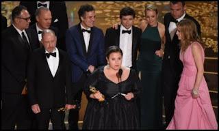 Productores, guionistas e intérpretes de Spotlight en los Oscars 2016