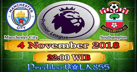 Prediksi Bola855 Manchester City vs Southampton 4 November 2018