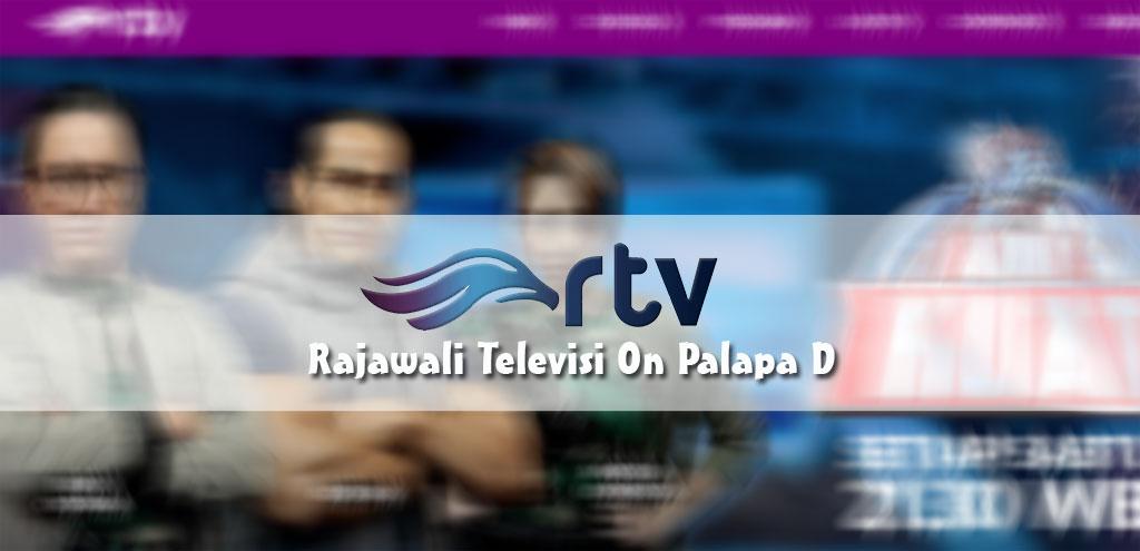 Frekuensi Terbaru Channel Rajawali TV (RTV) di Satelit Palapa D