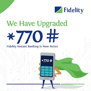 Fidelity Bank - Withdraw cash from ATM without your ATM Card