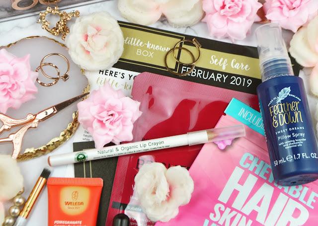 February 2019 Little Known Box - The Self Care Edit Review, Lovelaughslipstick Blog