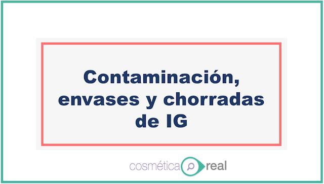 Contaminación, envases y chorradas de IG