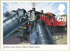 James Covered in Tar 68p Stamp