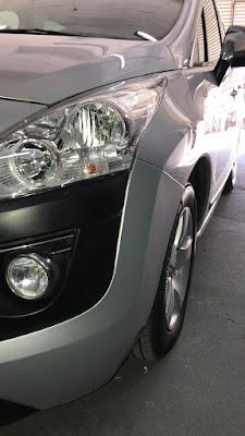 Peugeot 3008 lista para entregar, se realizó trabajo de sacabollos, micropintura y tratamiento cerámico