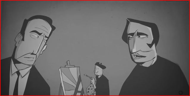 Ayn Rand interview animatedfilmreviews.filminspector.com