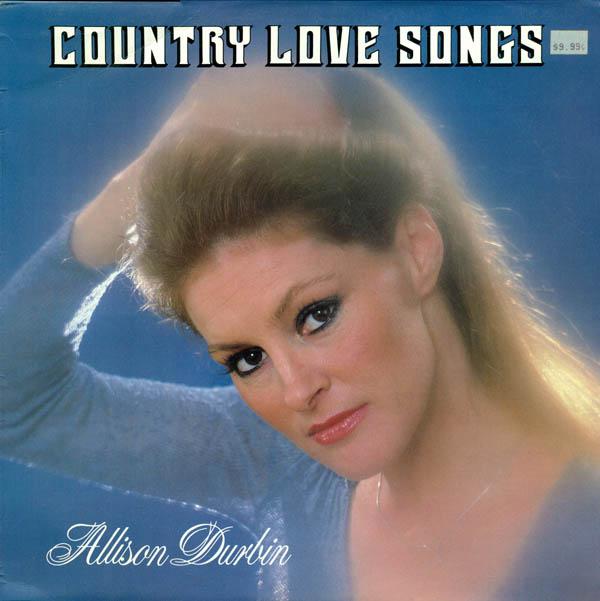 Vinyoleum: Allison Durbin - 1983 - Country Love Songs FLAC