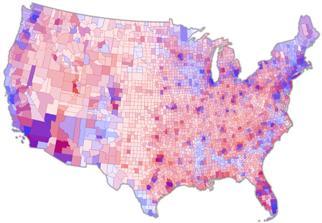 America Needs A Better Election Map CityLab - Us map electoral to color