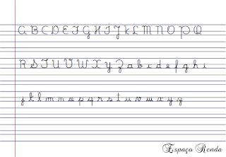 Caderno de caligrafia para baixar
