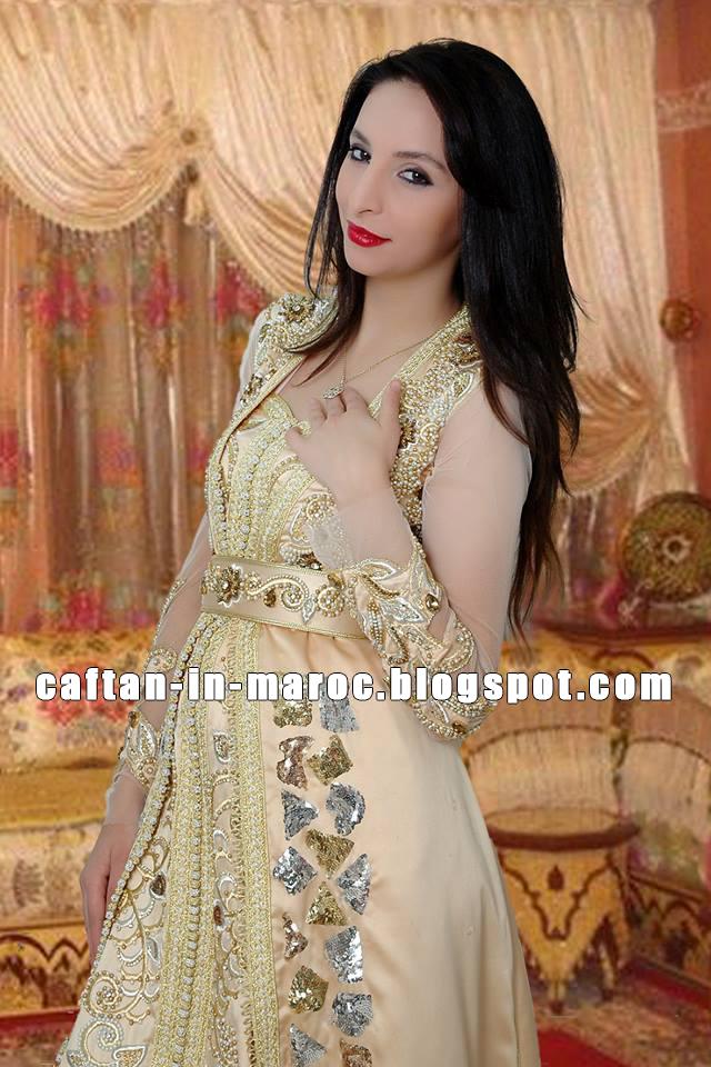 caftan marocain de luxe 2016