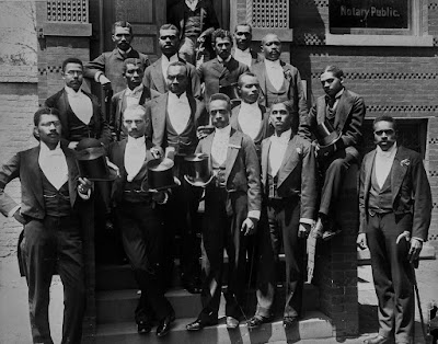 A graduating class of law students at Howard University in Washington, D.C.