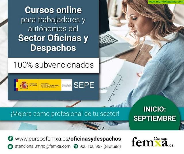 Últimas plazas para los cursos del SEPE para trabajadores y autónomos
