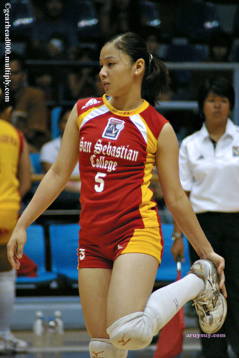 Mary Jane Pepito Sexy Volleyball Girl From Ssc Recoletos -5293