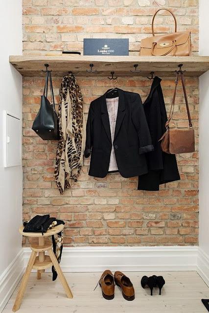 Ideas para decorar recibidores pequeños-9