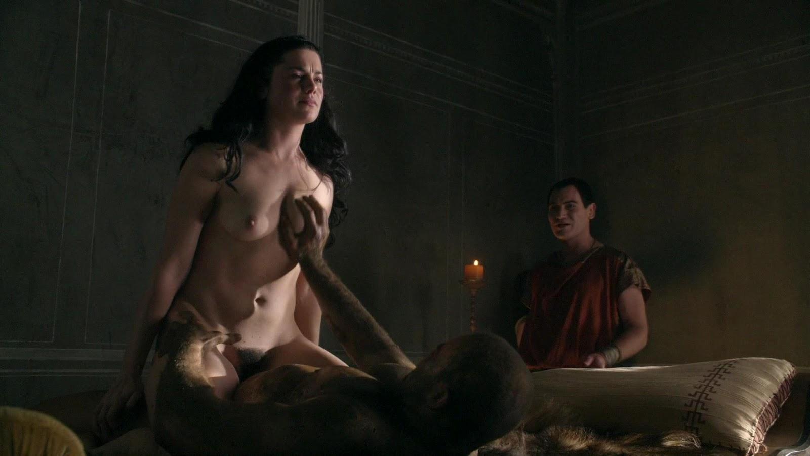 Spartacus gods of the arena sex scenes