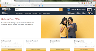 Amazon refer and earn