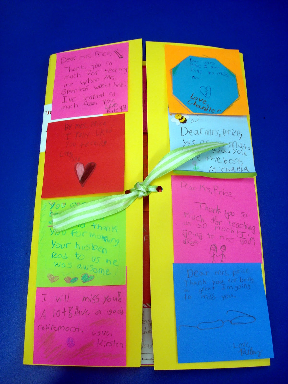 Sticky Note Thank You Card Flapjack