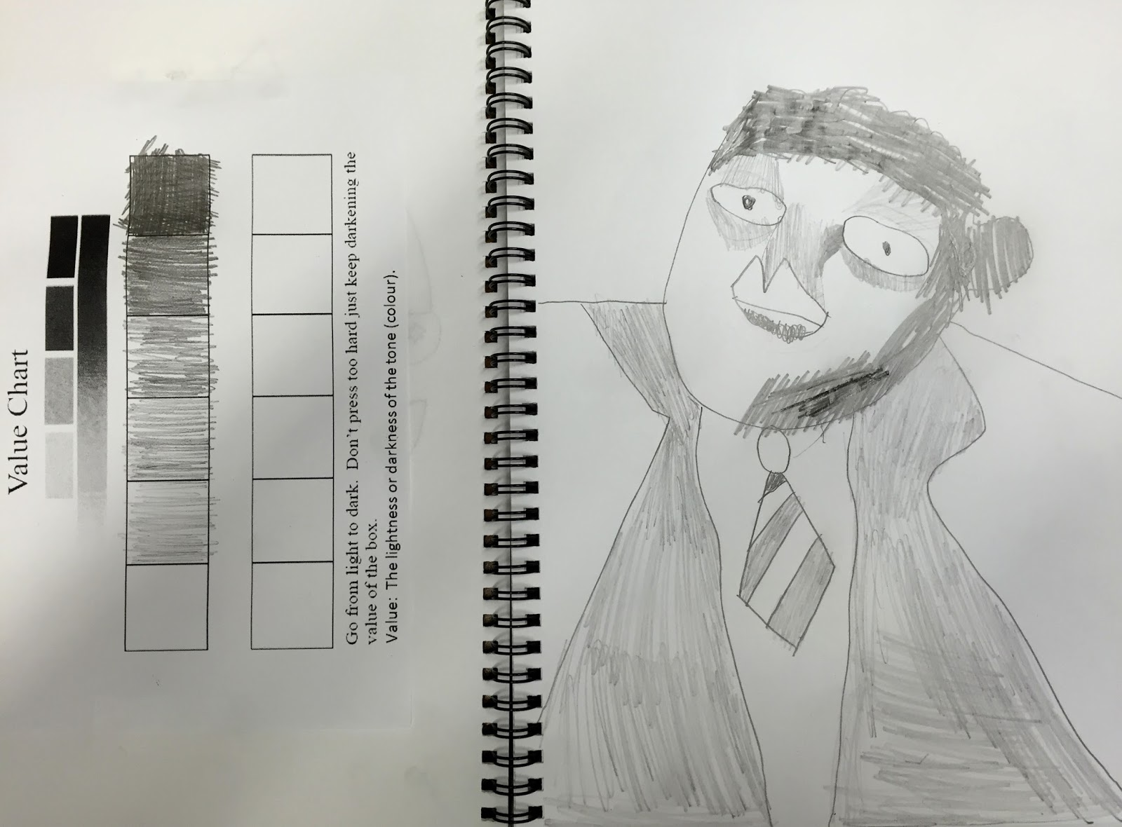 Next week students will be creating self portraits that show value using charcoal before applying their new knowledge to painting also drawings sketchbook ps brooklyn art news rh ps brooklynartnewsspot
