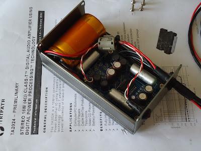 THE ORRONOCO AUDIO DIY: Tripath TA2024 Amplifier - Throw