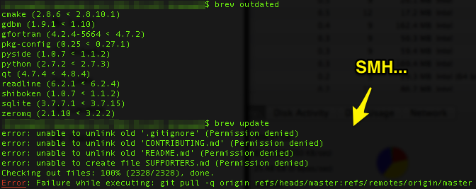 predator times: Tips for the Updating Homebrew Woes