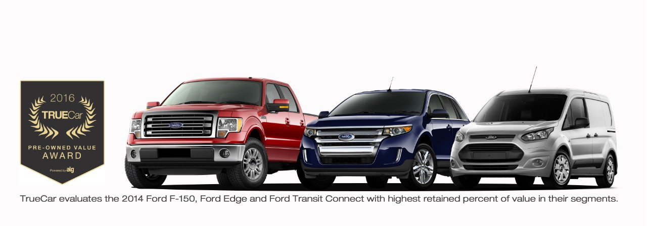 The  Ford F  Edge And Transit Connect Will Retain The Highest Percentage Of Their Value As They Enter The Market For Resale In  According To