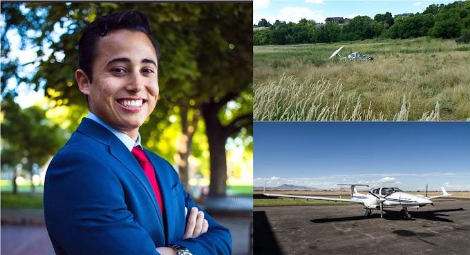 Estudiante mocano en  Universidad de Utah muere en accidente aéreo cuando pilotaba avión