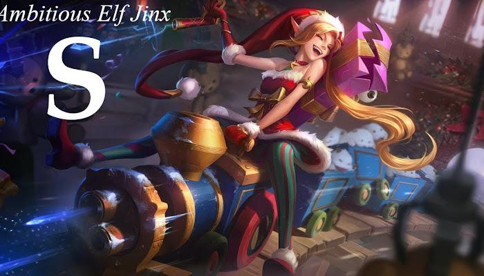 S on Ambitious Elf Jinx - League of Legends | LoL