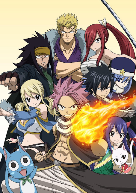 "La temporada final de ""Fairy Tail"" (フェアリーテイル) comenzará este otoño."