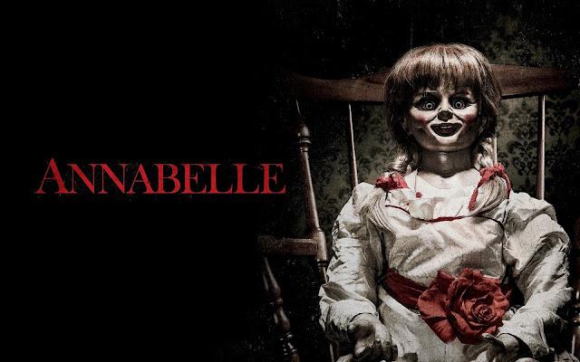 アナベル 死霊館の人形/本当は布製です