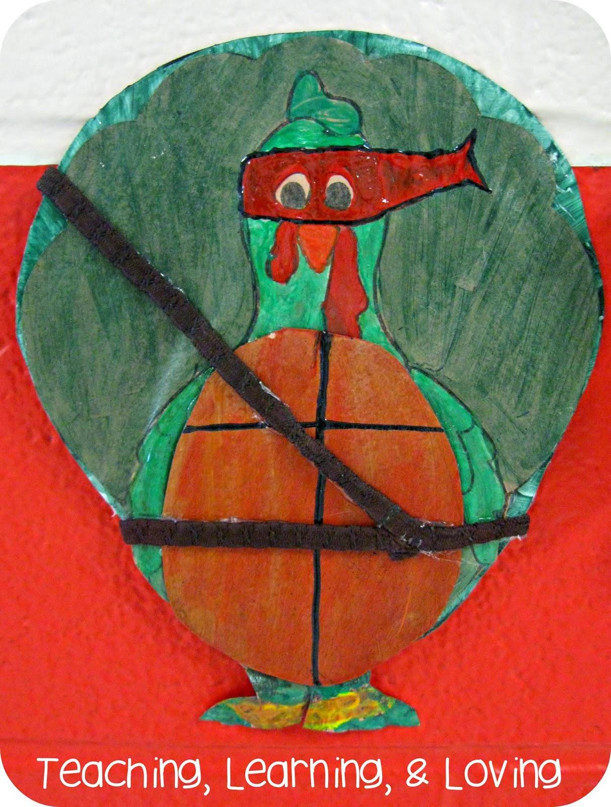 teaching learning loving book talk tuesday turkey trouble. Black Bedroom Furniture Sets. Home Design Ideas