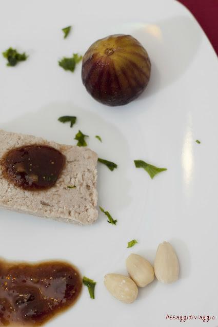 Paté di fegato al Cognac con salsa di fichi e balsamico