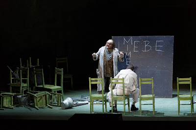 Wagner: The Ring - Semperoper, Dresden - Gerhard Siegel (Mime), Andreas Schager (Siegfried) (Photo © Klaus Gigga)