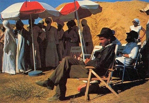 El rodaje de Indiana Jones, en busca del Arca Perdida