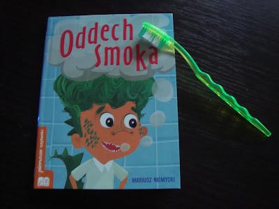 oddech smoka, książka do nauki czytania, książka o niskim poziomie trudności