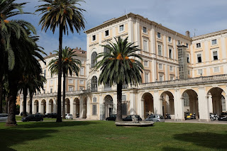 The Palazzo Corsini was Schiaparelli's home as a young girl