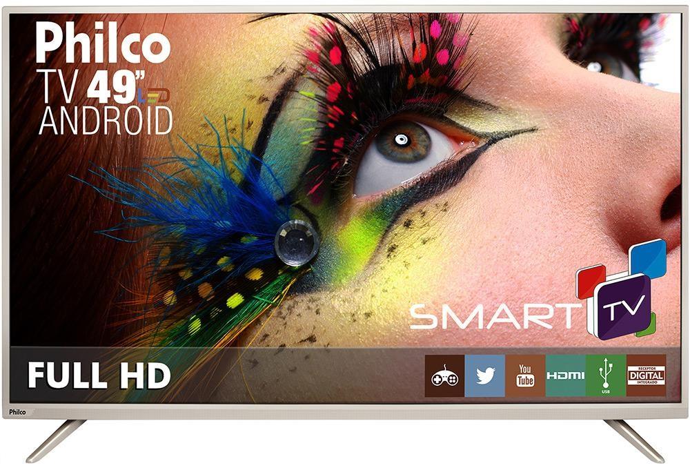 a4281fdf021 SMART TV LED 32 Philco PH32B51DSGWA › Com Android DIVERSOS › Smart TV em  Promoção