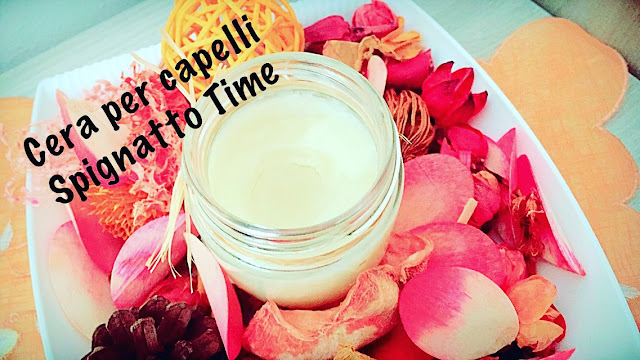 Cera Leave-In per Capelli, ricetta cosmetica cera styling per capelli