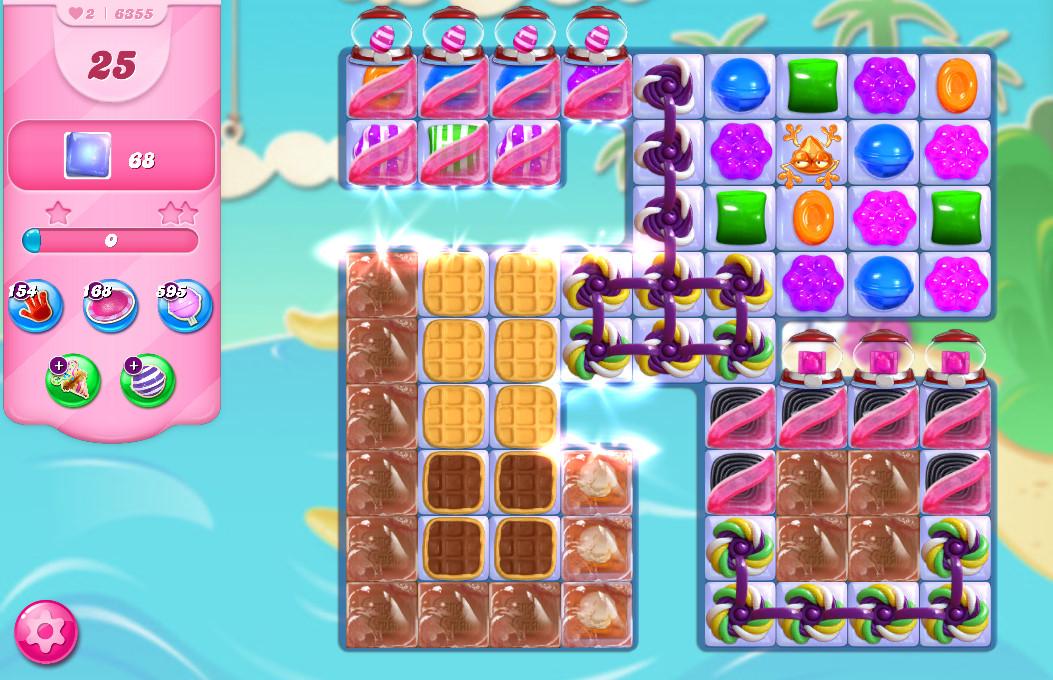 Candy Crush Saga level 6355