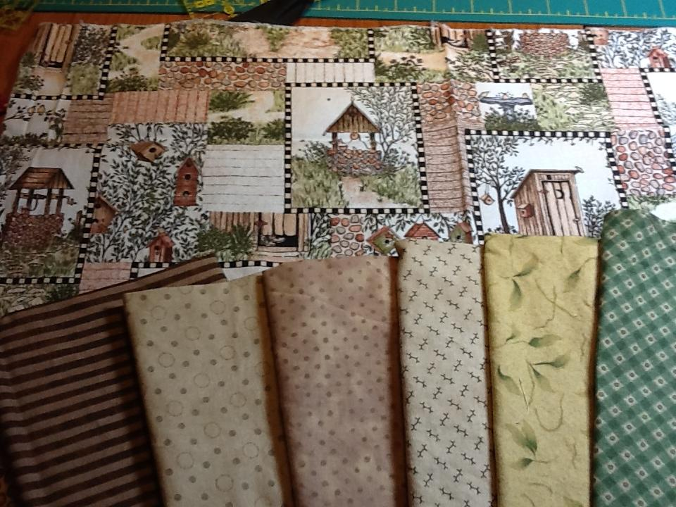 Outhouse fabric   Etsy   Outhouse Material