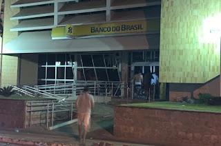 Bandidos 'tocam' o terror em duas agências no interior da PB durante madrugada