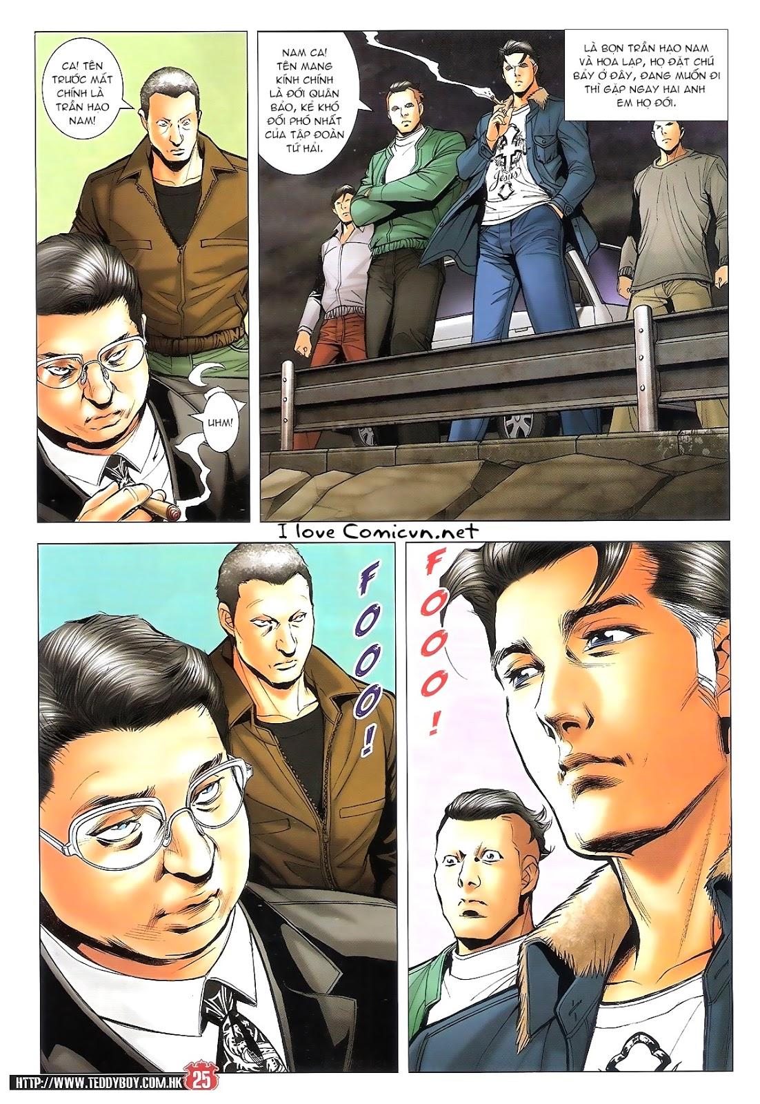 Người Trong Giang Hồ chapter 1696: giết vào vượng giác trang 24
