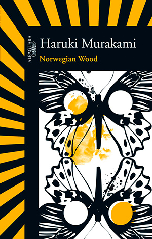 Capa do livro Norwegian Wood, de Haruki Murakami