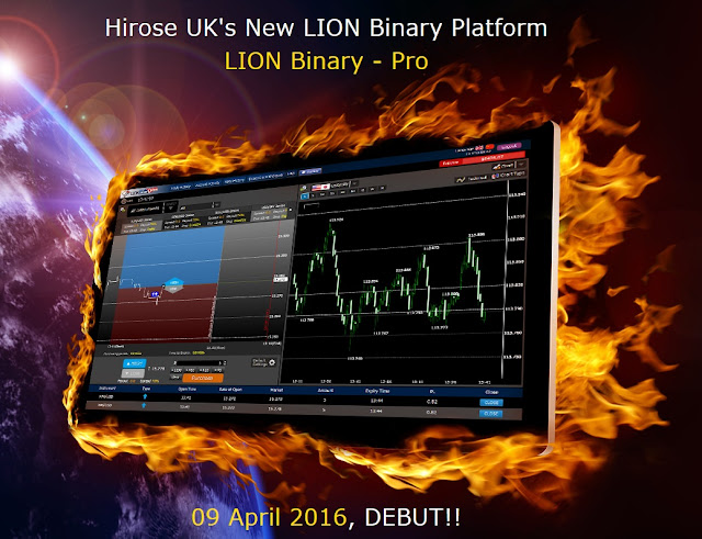 Hirose Financial UK Releases new LION Binary Pro Platform