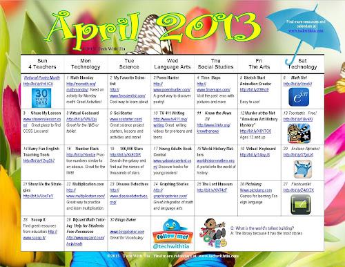 February 2013calendar Black History Month Calendar Tech With Tia
