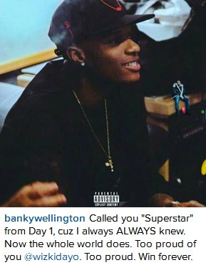 """Banky W Gushes About Wizkid, Calls Him """"Superstar from Day 1"""""""