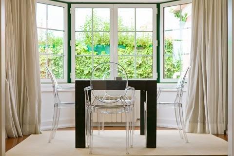 八角窗窗簾|八角窗窗簾設計類似弧形景觀窗