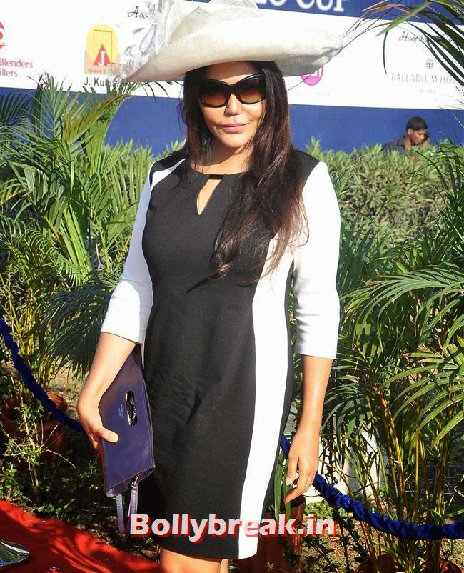 Nisha Jamwal, Manasi Scott, Saidah Jules at Yes Bank International Polo Cup 2014