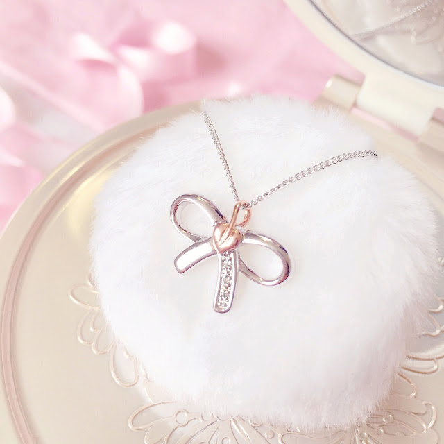 Clogau Mococo Jewellery | Diamond Tree Of Life Bow Necklace