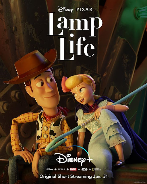 Lamp Life logo, Disney Plus, Toy Story 4, Bo Peep, PIxar, Review