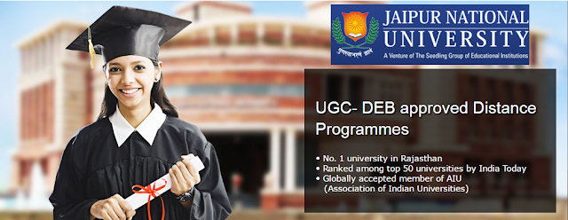 Jaipur National University Distance Education MBA